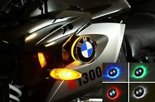 BMW K1300R BICOLOR LED INTERMITENTE CON EMBLEMA K 1300R : Blanco/Amarillo
