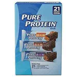 Pure Protein Bars, Healthy Snacks Support Energy, Variety Pack, 1.76 oz, 21 PACK