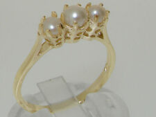 Pearl Band Fine Rings