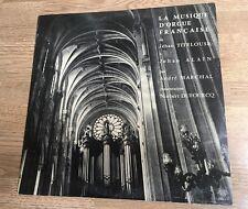 # LP La musique d'orgue française Jehan ALAIN TITELOUSE Titelouze André Marchal
