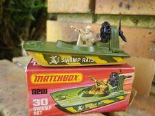 MATCHBOX LESNEY SUPERFAST n° 30 SWAMP RAT COMME NEUF en boite d'origine
