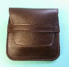.223/.204/.222. 6 round Bullet wallet. Brown real leather. With belt loop.