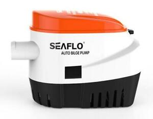 AUTOMATIC 12V BILGE PUMP 600GPH WITH INTERNAL FLOAT SWITCH AUTO WATER BOAT