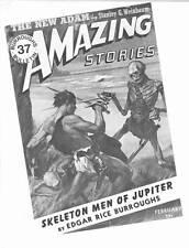 BURROUGHS BULLETIN #37 - Edgar Rice Burroughs fanzine SKELETON MEN OF JUPITER