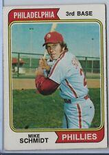 Mike Schmidt (H0F) 1974 Topps Baseball Card #283; VG+