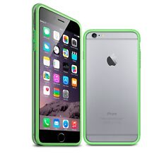 Coque Bumper Pour iPhone 6 Plus (5.5) Vert Transparent  protecteur Ultra Clear H