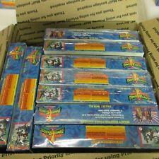 24 BOX LOT Mighty Morphin Power Rangers Hobby Edition New Season FACTORY SEALED