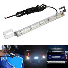 Car 30 SMD White Red LED Strip Lamps License Plate Backup Reverse Rear Fog Light