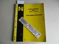 Hyster Forklift R30b R30ba Electric Parts Manual