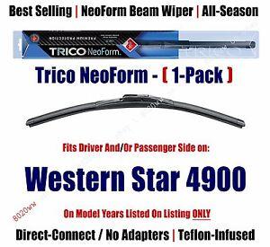 (Qty 1) Super Premium NeoForm Wiper Blade fits 1990-1995 Western Star 4900 16180