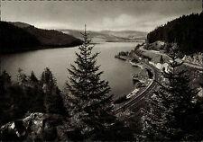 ~1950 Blick auf Bahnstrecke See bei Schluchsee Schwarzwald Kupfertiefdruck-AK