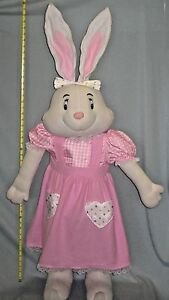 48 Inches Tall Stuffed Rabbit Plush Cottage Decoration Door Stop #SH84