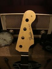 Warmoth Fender-Licensed J Jazz Bass Neck w/Lacquer Finish 60s Waterslide Logo