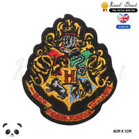 Harry Potter Hogwarts Embroidered Iron On Sew On Patch Badge For Clothes etc