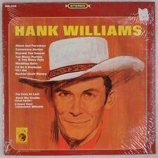 "HANK WILLIAMS: Compilation, Metro '66 Country Vinyl LP ""Lonesome Whistle"""