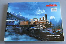 X257 MARKLIN Train catalogue Ho 1996 1997 450 pages 28,5*21 cm F wagon voiture
