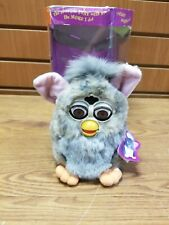Vintage Electronic Furby Gray 70-800 - Read