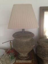 Antique Marble Urn Lamp