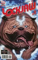 Lockjaw #1 Marvel Comic 1st Print 2018 unread NM