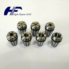 "NEW ER11 7 PCS Spring Collet Set 1/16""-1/4"" CNC Super Precision 1/8 5/32 3/16"