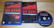 SONY PS2 DIE HARD VENDETTA | FIRST-PERSON SHOOTER | PUZZLE ELEMENTS | HOSTAGES
