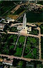 Baton Rouge LA Lousiana State Capitol Aerial View Postcard unused (13086)