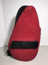 RED QUILTED Healthy Back AMERIBAG