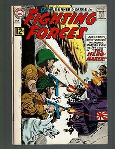 OUR FIGHTING FORCES 73 F 6.0 THE HERO MAKER GUNNER & SARGE GENERAL LITTLE NOVICK