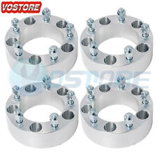 "(4) 2"" Wheel Spacers 5x5.5 fits Ford F-150 E-150 Bronco Jeep CJ3 Dodge Ram 1500"
