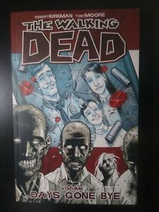 The Walking Dead volume #1,2 Graphic Novels Very Fine 1st printing 2004