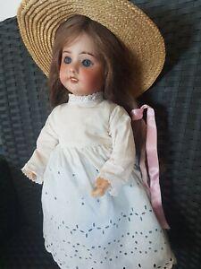 poupée ancienne tête biscuit