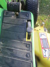 ND Tractor #MP103114 JD 425 Reverse Pedal extension KIT II round rubber pad