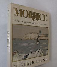 Art Painter Bio Canada Morrice Great Canadian Artist G. Blair Laing Signed 1984