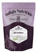 Goji Berries - 1kg - (Quality Assured) Indigo Herbs