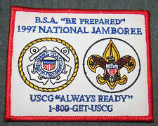 1997 National Boy Scout Jamboree Coast Guard Patch MINT! Jambo Jam NJ