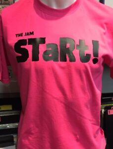 The Jam 'Start' NEW Pink T-Shirt (Paul Weller, Mod)