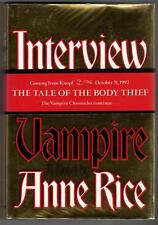 Interview with the Vampire by Anne Rice Signed LTD #390