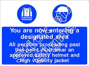 You are entering a designated CONS0001 Construction building stickers & signs