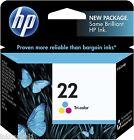 HP Nº 22 Color Original OEM Cartucho De Tinta C9352AE Officejet