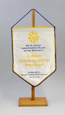 DDR Wimpel 10 Jahre Kampf Kollektiv Deutsch-Sowjetische Freundschaft DSF 9990134