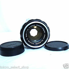 Vintage NIKON 50mm F/1.4 NIKKOR-S Made in Japan Good!