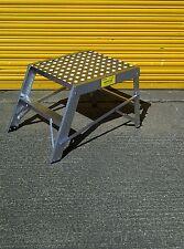 Hopstar Aluminium Folding Work Platform Bench Step Up Hop Up HEAVY DUTY