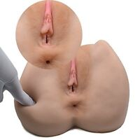 3D Realistic Silicone Ass Anal Vagina Pussy Lifelike Male-Masturbator-Real
