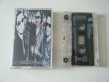 U2 DISCOTHEQUE CASSETTE TAPE SINGLE ISLAND UK 1997