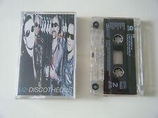 U2 DISCOTHEQUE CASSETTE TAPE SINGLE ISLAND UK 1997