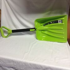 Suncast 11 Inch Telescoping Snow Shovel With D Handle Green