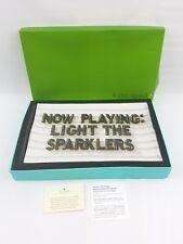 Kate Spade Lenox light the sparkles glass tray