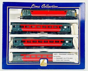 LIMA 00 GAUGE - CLASS 47 DIESEL 47827 VIRGIN TRAINS & COACHES PACK DCC FITTED
