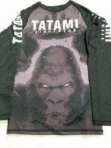 Tatami King Kong MMA BJJ Jiu Jitsu LongSleeve Long Sleeve SS Rashguard Rash