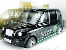 CORGI bendicks LONDON TAXI AUTO MODELLO PROMOZIONALE SCALA 1:36 problema FX4 Nero K8Q